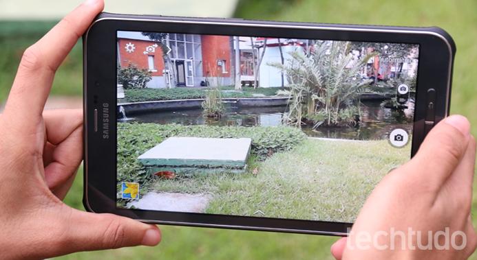 Galaxy Tab Active (Foto: Lucas Mendes/TechTudo)