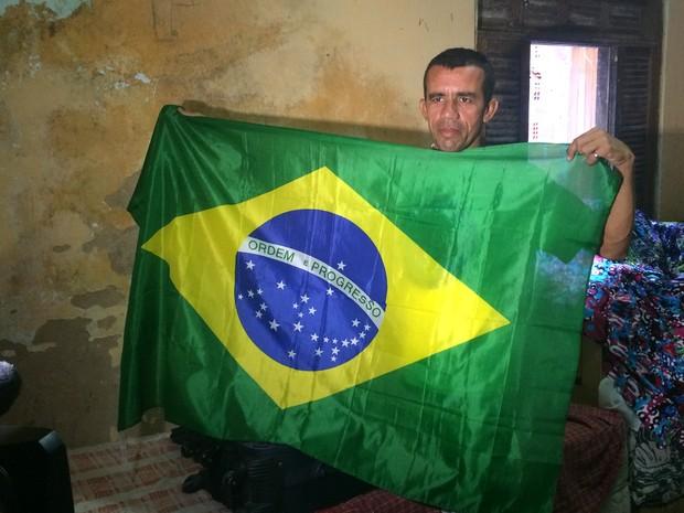 César vai assistir à final da Copa no Rio de Janeiro com tudo pago (Foto: Coelce/Divulgação)