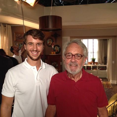 Miguel Thiré e Paulo José (Foto: Divulgação)
