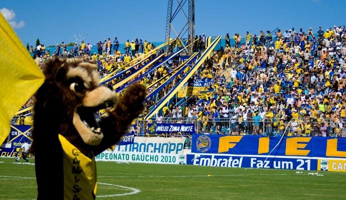 Boca do Lobo foi liberada parcialmente para próximo jogo (Foto: Divulgação/Pelotas)