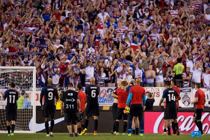 Torcida Estados Unidos Filadélfia Copa América (Foto: Reprodução / Facebook)