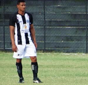André Lima, zagueiro, Central (Foto: André Ráguine / GloboEsporte.com)