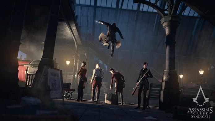 O elogiado Assassins Creed Syndicate (Foto: Divulgação/Ubisoft)