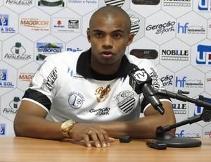 Comercial apresenta zagueiro Edimar, ex-Paraná (Foto: Divulgação/Comercial FC)