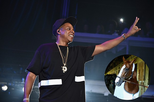 Jay-Z e California Chrome (Foto: Getty Images)