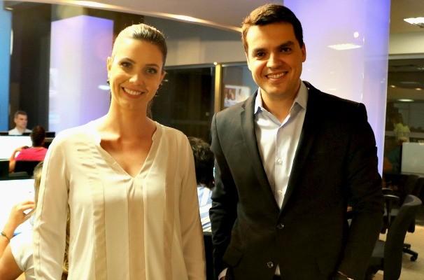 Simone Lazzari e Léo Saballa (Foto: Daniela Kalicheski/RBS TV)