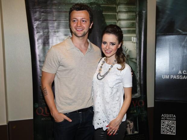 Sandy e Lucas Lima em pré-estreia de filme em São Paulo (Foto: Manuela Scarpa/ Foto Rio News)