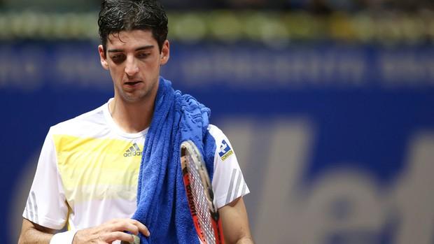 Thomaz Bellucci tênis Brasil Open oitavas (Foto: Getty Images)