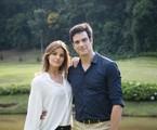 'Pega pega': Luiza (Camila Queiroz)e Eric (Mateus Solano)  | TV Globo