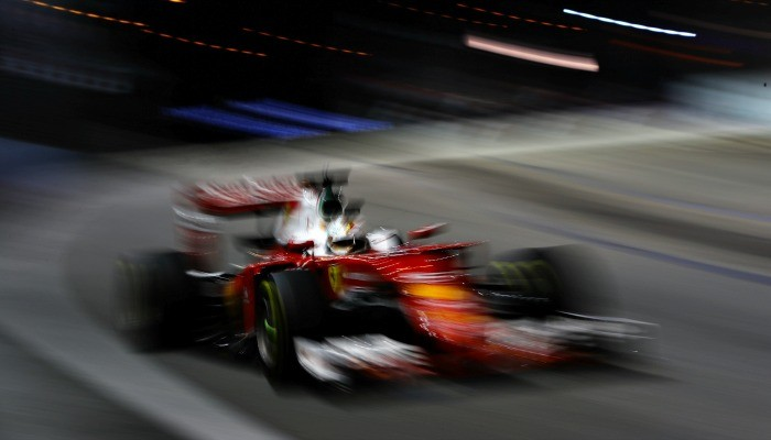 Sebastian Vettel no GP de Cingapura