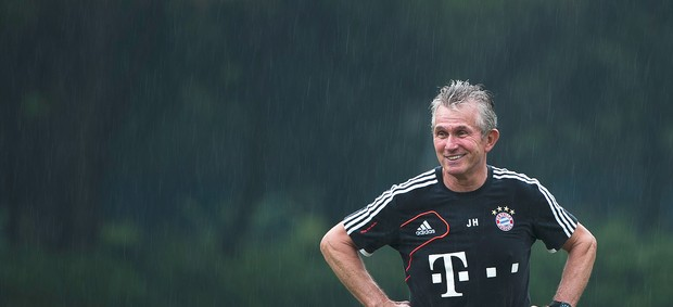 Jupp Heynckes técnico do Bayern de Munique (Foto: Getty Images)