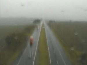Rodovia PR-317 foi liberada por volta das 16h pela PRE. (Foto: Viapar/Reprodução)