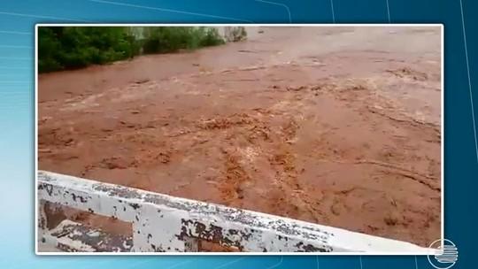 Início das chuvas já provoca estragos em cidades na região Sul do Piauí