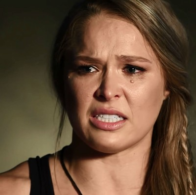 Ronda Rousey choro (Foto: Reprodução/Youtube)