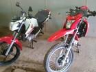 Motos com chassis adulterados são recuperadas pela polícia, em RO