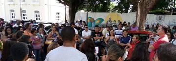 Professores paralisam atividades e realizam ato no MA (Danilo Quixaba/Mirante AM)