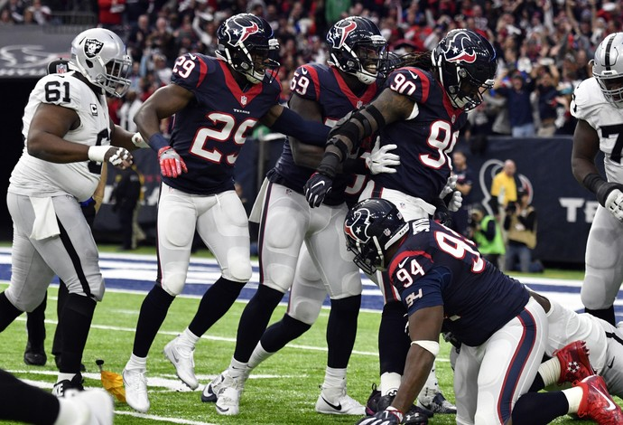 Houston Texans x Oakland Raiders - wild card AFC NFL (Foto: Reuters)