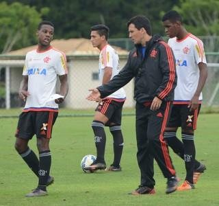 Treino Flamengo Copa São Paulo Futebol Júnior (Foto: Cairo Oliveira)