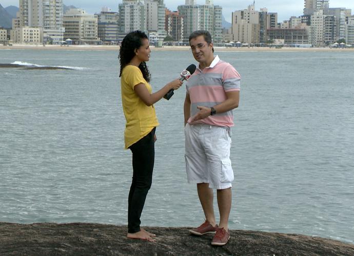 Ted Conti mora em Guarapari e nós fomos até lá!  (Foto: Divulgação/ TV Gazeta)
