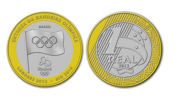 Moeda de um real de 2012 vira raridade que chega a valer R$ 160