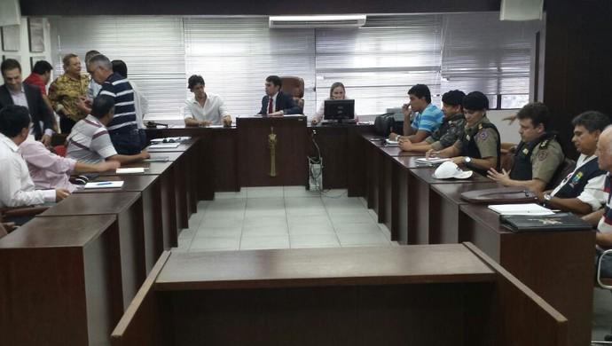 Reunião Clássico Mineiro FMF (Foto: Marcelo Jordy)