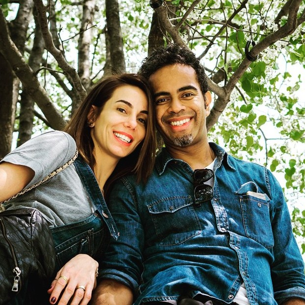 Tânia Khalill e Jair Oliveira (Foto: Reprodução/Instagram)