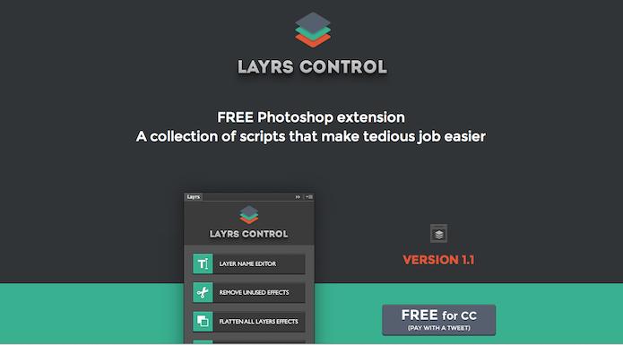 Homepage do site do plugin  Layrs control  (foto: Repodução/ Lu Fávero)