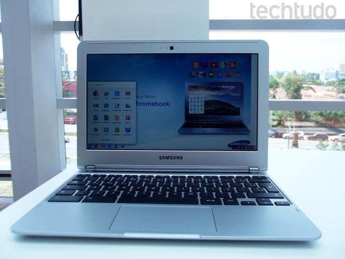 Samsung apresenta seu Chromebook fabricado no Brasil (Foto: Paulo Alves/TechTudo)