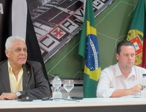 Roberto Dinamite Cristiano Koehler Vasco Coletiva (Foto: Fred Huber)