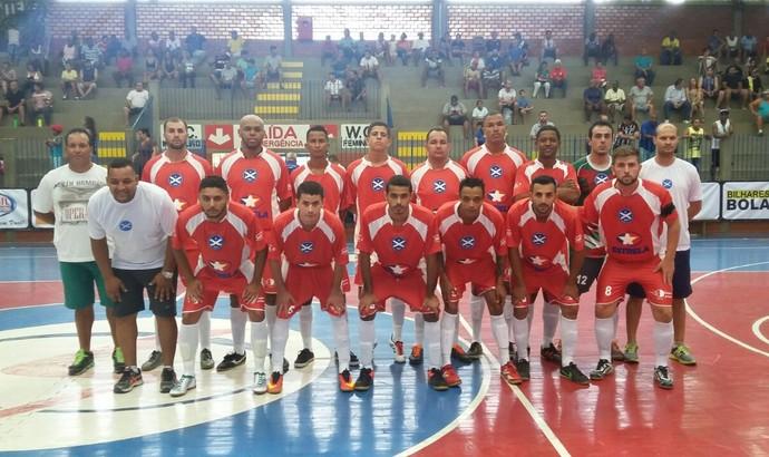 Time de Quatis  pronto para a estreia na Copa Rio Sul de Futsal (Foto: Divulgação)