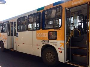 Ônibus fazia a linha Lapa-Rio Sena (Foto: Henrique Mendes/G1)