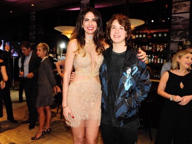 Luciana Gimenez e Lucas Jagger (Foto: Samuel Chaves/Brazil News)