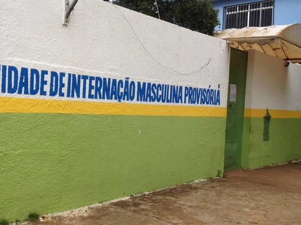 Adolescente está internado na Unidade de internação Porvisória Masculina de Porto Velho (Foto: Hosana Morais/G1)