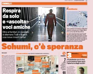 Matéria do Gazzeta dello Sport (Foto: Reprodução)