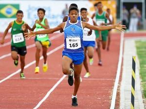 Atletismo mato-grossenses conquistou cinco medalhas  (Foto: Wagner Carmo/Exemplos/COB)