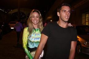 Danielle Winits e Amaury Nunes (Foto: Gabriela Andrade/Foto Rio News)