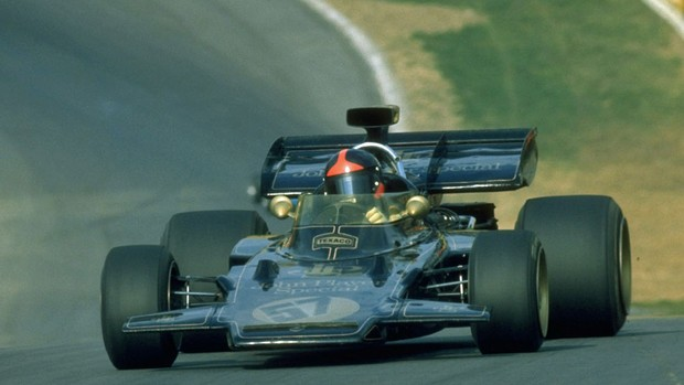 Emerson Fittipaldi Lotus 1972 (Foto: Getty Images)