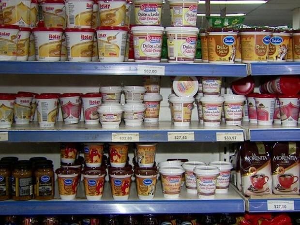 Liberados, queijos e salames devem movimentar comércio na fronteira (Foto: Reprodução / RPC)
