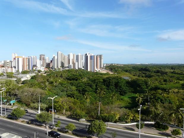 Parque Ecológico do Cocó é área de preservação permanente (Foto: Governo do Estado/Divulgação)