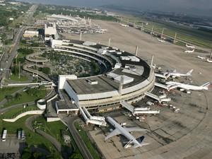 Aeroporto do Galeão, no Rio, vai a leilão nesta sexta-feira (22) (Foto: Acervo Infraero)