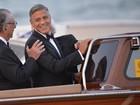 Famosos se reúnem em Veneza para o casamento de George Clooney