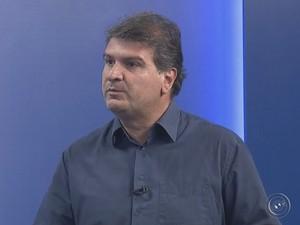 Gazzetta falou sobre os desafios da nova gestão  (Foto: Reprodução / TV TEM)