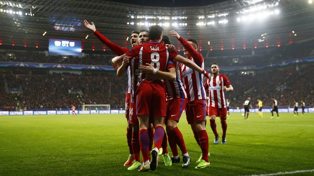 Bayer Leverkusen x Atlético de Madrid - Liga dos Campeões 2016-2017 ... 48ecc83af26c3