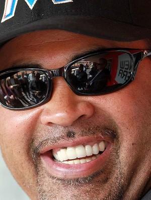 técnico Ozzie Guillén, do time de beisebol Miami Marlins (Foto: Getty Images)