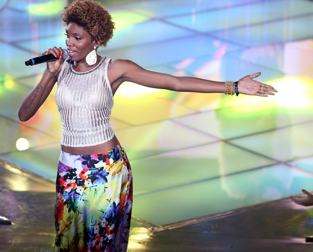 Kesia Estacio (Foto: The Voice Brasil/TV Globo)