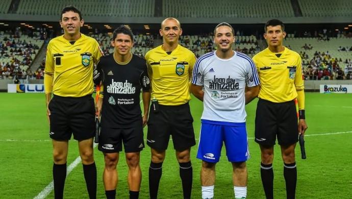 Wesley Safadão, Osvaldo, Jogo da Amizade (Foto: Divulgação)