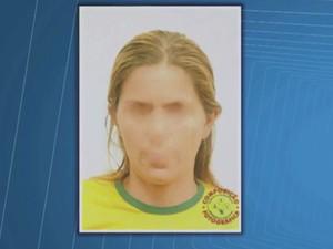 Polícia fez retrato falado com base em relato de caminhoneiro (Foto: Reprodução/ TV Bahia)