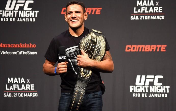 Rafael Dos anjos, UFC Rio (Foto: André Durão)