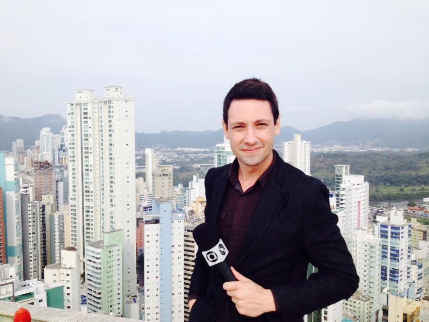 Edivaldo Dondossola é o repórter responsável pela série (Foto: Arquivo Pessoal/Divulgação)