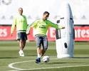Cristiano Ronaldo treina normalmente, mas Benzema segue dúvida no Real